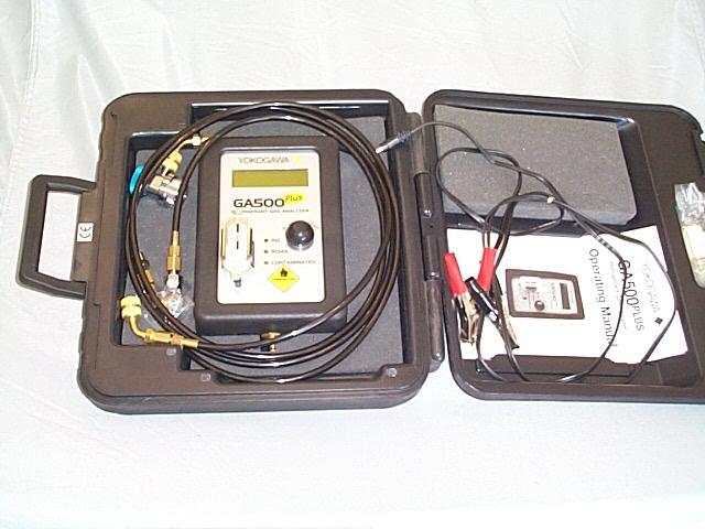 YOKOGAWA GA500 Plus Refrigerent Analyzer Identifier